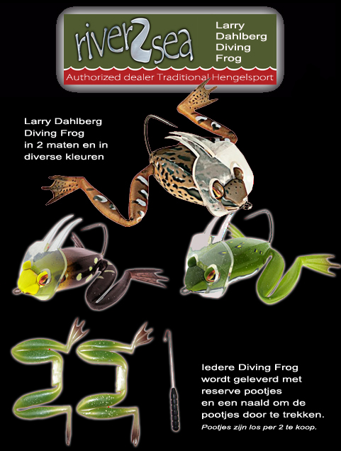 Larry Dahlberg Diving Frog